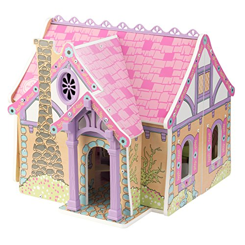 KidKraft Enchanted Forest Dollhouse Doll Multi 17.6 x 17.25 x 15.6 Inches