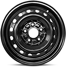 Road Ready Car Wheel For 2007-2012 Hyundai Elantra 15 Inch 5 Lug Black Steel Rim Fits R15 Tire - Exact OEM Replacement - Full-Size Spare