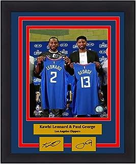 kawhi leonard autographed jersey