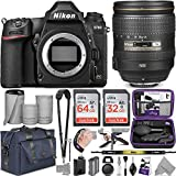 Nikon D780 DSLR Camera with 24-120mm Lens with Altura Photo Complete Accessory and Travel Bundle