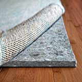 Rug Pad USA, 7/16' Thick, Felt and Rubber, 4'x6', Superior Lock- Premium Non Slip Rug Padding for Hardwood Floors