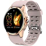 Smart Watch,Full Touch Screen Fitness Tracker with Heart Rate Sleep Monitor, Ip67 Waterproof