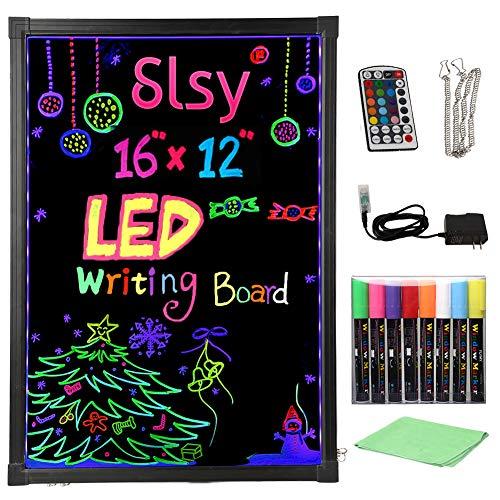 Slsy Illuminated LED Message Writing Board, 16