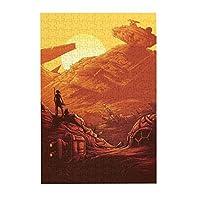 300ピース ジグソーパズル パズル star wars スターウォーズ 知育玩具 益智減圧玩 木製 ギフト プレゼント 38.3x26cm