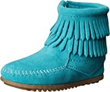 Minnetonka Boots, Turquoise, 10 Toddler