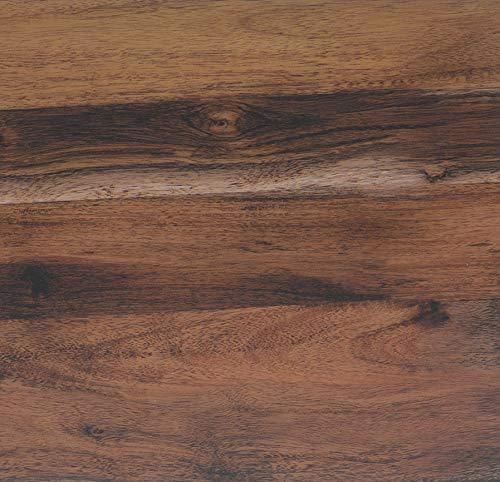 Klebefolie Holzoptik Eiche Rustikal, Dekofolie, Möbelfolie, Tapeten, selbstklebende Folie, PVC, ohne Phthalate, Natur-Holzoptik, 45cm x 3m, 95µm (Stärke: 0,095 mm), Venilia 53155