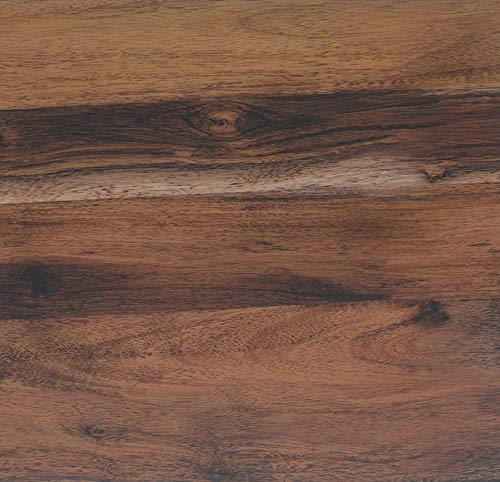 Lámina adhesiva Madera rústica de roble, lámina decorativa, lámina para muebles, lámina autoadhesiva, aspecto madera natural, 45 cm x 3 m, grosor: 0,095 mm, Venilia 53155