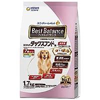 ベストバランス ドッグフード ふっくら仕立て ミニチュア・ダックスフンド用 7歳が近づく頃から始める低脂肪 1.7kg