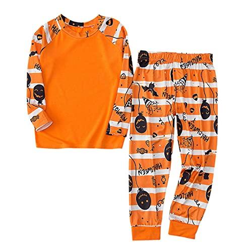 Hengyouhui Familien Nachtwäsche Outfits Sleepwear Schlafanzüge Halloween Schlafanzug Lange Ärmel Bluse + Lange Hosen Pyjama Set