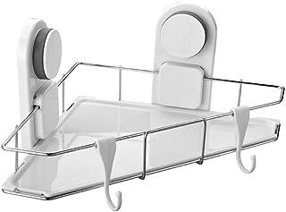 Étagère d'angle Douche Ventouse for douche salle de bains étagère en acier inoxydable salle de bains stockage Organisateur...