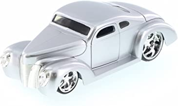 Jada 1940 Ford Coupe Custom, Silver 90281LC - 1/24 Scale Diecast Model Toy Car but NO Box