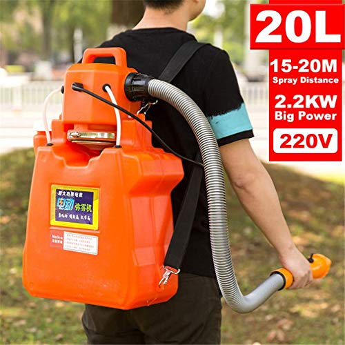 GFYL 2200W Elektrische ULV Fogger Sprayer 20L Ultra-Hochleistungs-Desinfektion Maschine Moskito-Mörder Kampf Drogen-Sprüher
