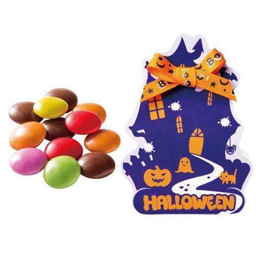 ハロウィン お菓子 チョコ プチギフト『ジョ リーハ ロウィ ン (マーブルチョコ)』個包装 業務用 大量 結婚式 OGT820 (15個セット)