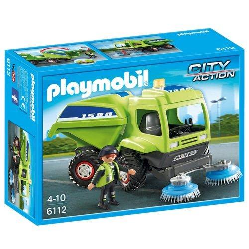PLAYMOBIL - Vehículo de Limpieza (61120)