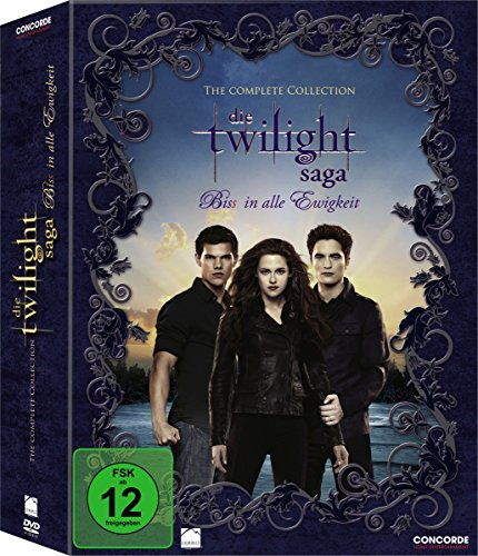 Die Twilight Saga: Biss in alle Ewigkeit - The Complete Collection - Digipack [11 DVDs]