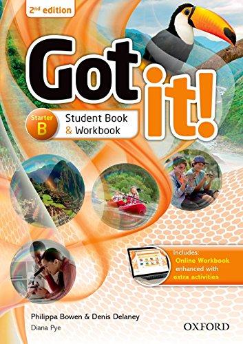 Got It! - Starter B - Student Book / Workbook With Multi-Rom - 02Edition