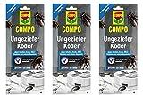 Compo Ungeziefer-Köder 3x2 Stück - Köderdose gegen...