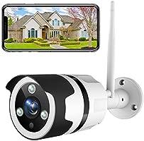 Netvue Caméra de Surveillance Extérieure, 1080P Full HD Caméra WiFi, IP66 Étanche, Détection de Mouvement, Audio...