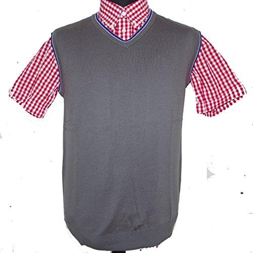 Warrior - Camiseta Tirantes - Liso - Hombre Gris Gris