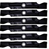 Stens 335-859 2 Sets of 3 -- 2-in-1 Mower Mulching Blades Hi Lift 6 Blades