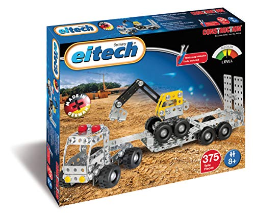 Eitech Construction - Truck with Trailer/Digger