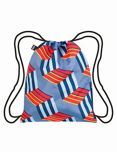 LOQI GEOMETRIC Cubes Backpack-rugzak