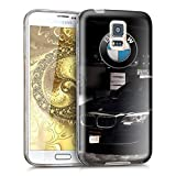 NEW'OCE Coque Samsung Galaxy S5, Coque de Protection avec Absorption de Choc et Anti-Scratch [ Ultra Transparente Silicone en Gel...