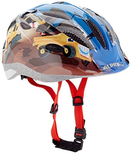 Alpina Kinder Radhelm Gamma 2.0, Construction, M (51-56 cm)