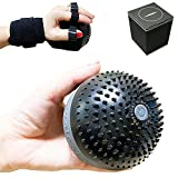 Electric Massage Ball for Fascia Rehabilitation, Finger Training, Muscle Therapy, Extra High Frequency, Cordless Rechargeable, Vibrating 4 Modes