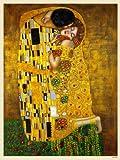 onthewall Gustav Klimt Der Kuss Art Nouveau Poster Art