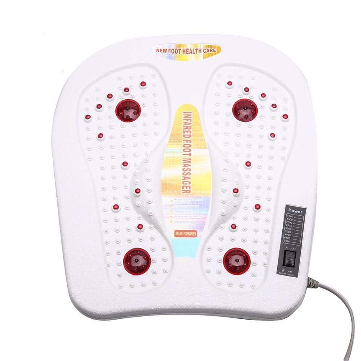 動子孫祖父母を訪問Cckrm Foot Massager指圧ディープニーディングで足の痛みを和らげ、足裏マッサージャーで切り替え可能な熱機能、ホームオフィス向け