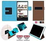 Hülle für Dell Venue 8 7000 Tasche Cover Hülle Bumper | in Braun | Testsieger
