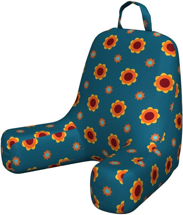 Detroit Mall Ambesonne Floral Reading Cushion with Pocket Back Spring new work Sy Continuous