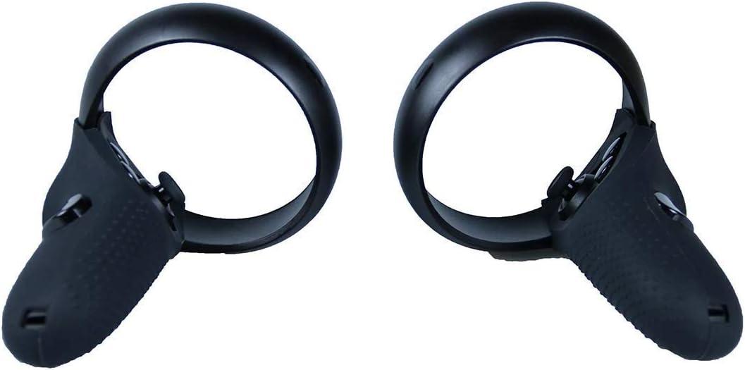 R/ésistante aux chocs et /à la lumi/ère Rouge NiceCool Coque en silicone 3 en 1 pour contr/ôleur Oculus Quest