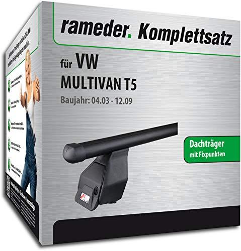 Rameder Komplettsatz, Dachträger Tema für VW MULTIVAN T5 (118906-04988-4)