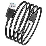 PChero Cable de Carga de Datos USB para Texas Instruments TI-84 Plus CE, TI 89, TI Nspire CX Calculadora Gráfica