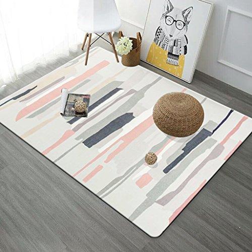 O&A Nordic geometrische bedrukte woonkamer decoreren tapijten salontafel antislip deurkussens vloermatten