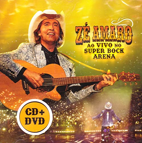 Ze Amaro - Ao Vivo No Super Bock Arena [CD+DVD] 2021