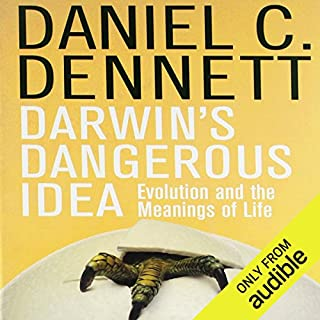 Darwin's Dangerous Idea audiobook cover art