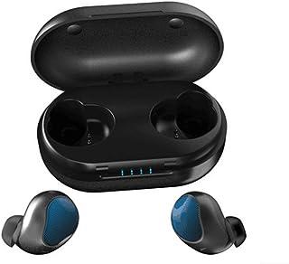 GXSLKWL Bluetooth Headset True Wireless Charging Bin Bluetooth V5.0 Belt Charging Treasure Mini Earphone True Wireless Ear...