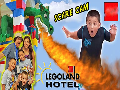 Lego-land Hotel Grand Opening In Florida Plus Dragon Scare Cam! - Best Day Ever With Amusement Park Fun!