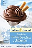 Southern Gourmet Scandalous Mix, Double Chocolate Mousse, 4 Ounce (Pack of 6)