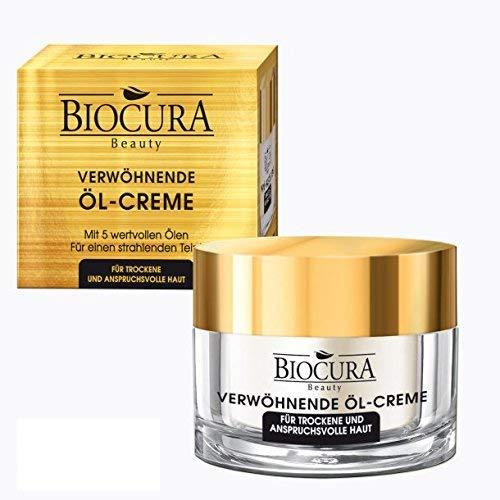 BIOCURA Beauty Gesichtspflege Mulit-Oil Complex + Collagen 50ml für trockene + anspruchsvolle Haut