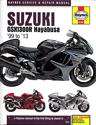 hayabusa wiring diagram for 95 amazon com i5motorcycle 1999 2013 suzuki hayabusa haynes repair  suzuki hayabusa haynes repair