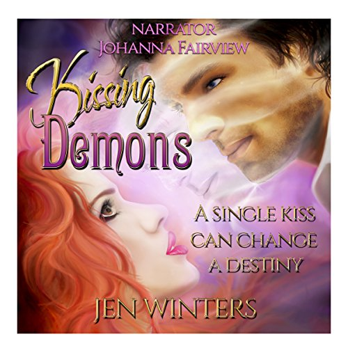 Kissing Demons audiobook cover art