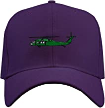 Custom Baseball Hat Uh-60 Blackhawk Embroidery Military Unit Structured Cap