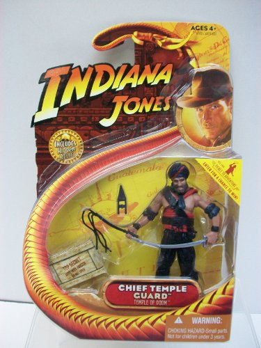 Hasbro Indiana Jones Temple of Doom Series 4 Chief Temple Guard Action Figure