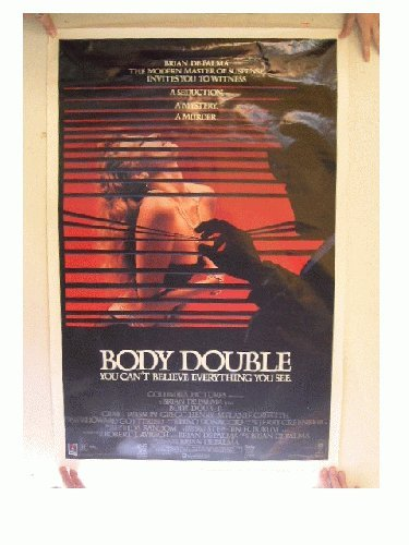 Body Double Movie Poster Can't Believe Brian De Palma