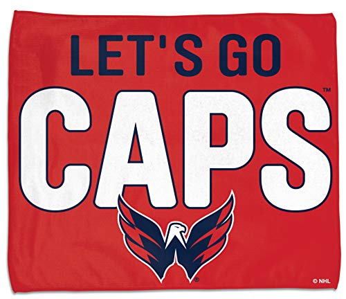WinCraft Washington Capitals Let's go Caps Rally Towel 15