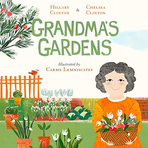 Grandma's Gardens audiobook cover art